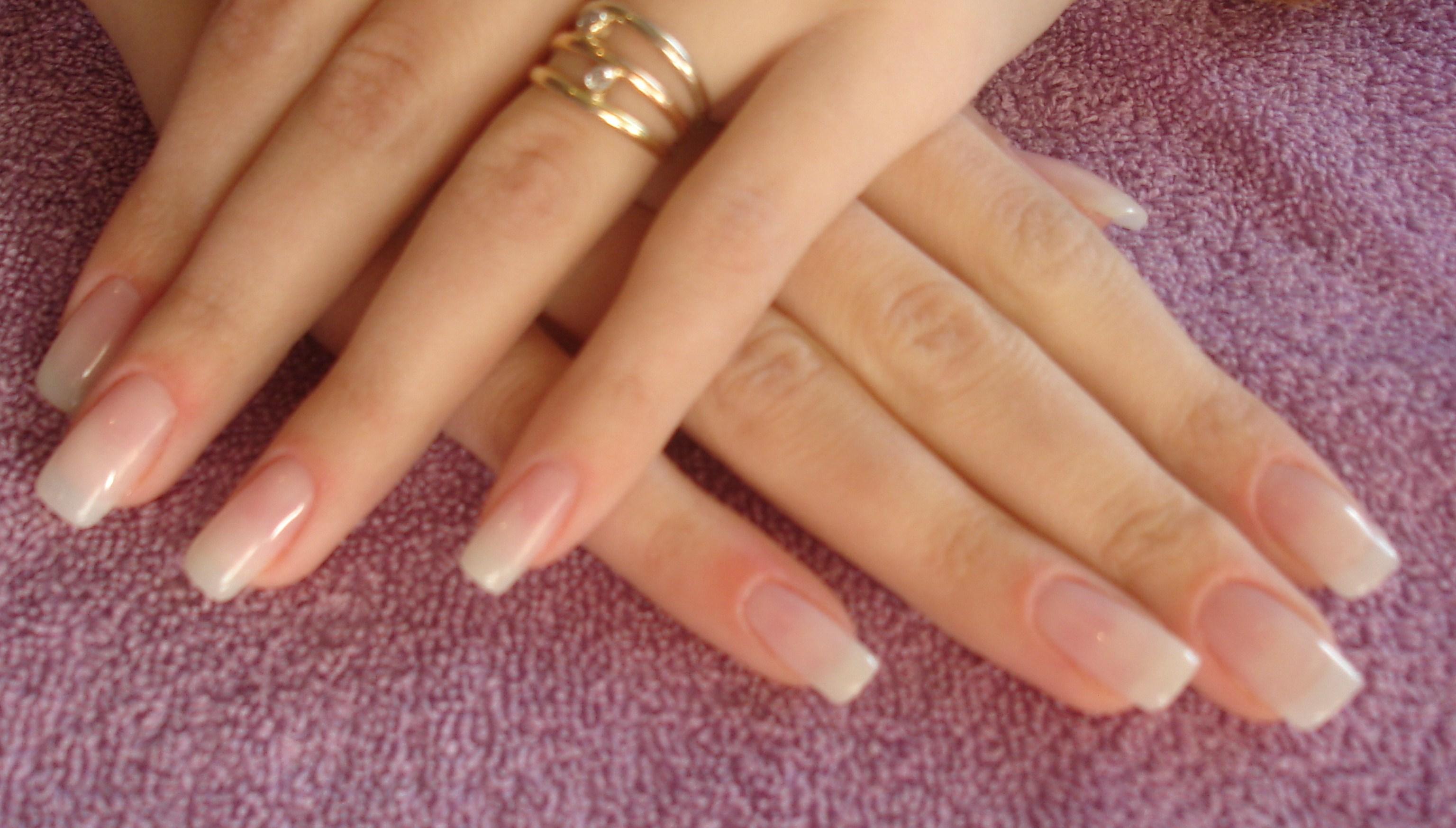 Натуральный маникюр ногти
